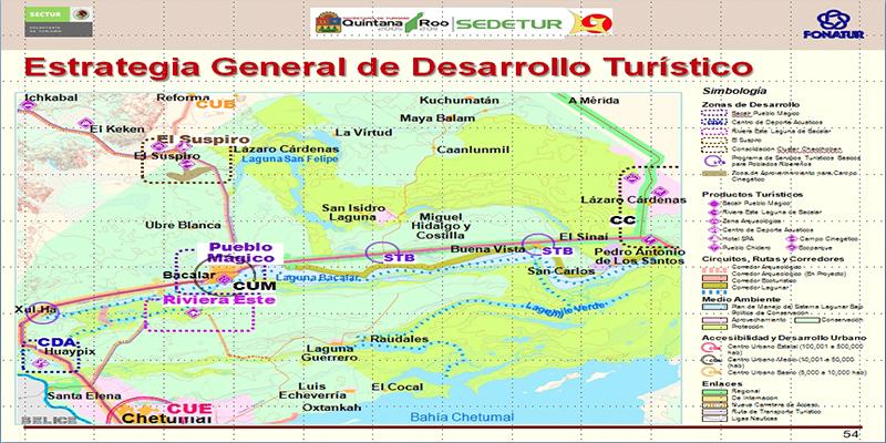 PDT  Bacalar, Quintana Roo