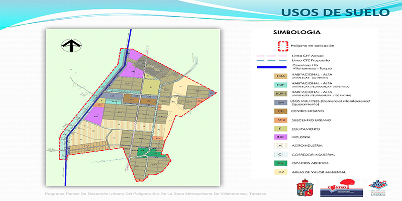 PDU Zona Metropolitana de la Cd. De Villahermosa, Tabasco